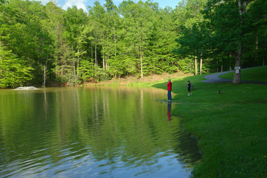 Our Private Fishing Lake Caney Creek Cabin Rental